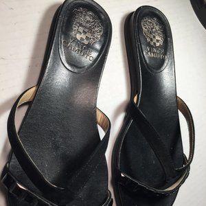 Ladies size 9 black sandals Vince Camuto